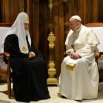 Что Патриарх Кирилл и Папа Римский сказали о войне, унии и расколе в Украине